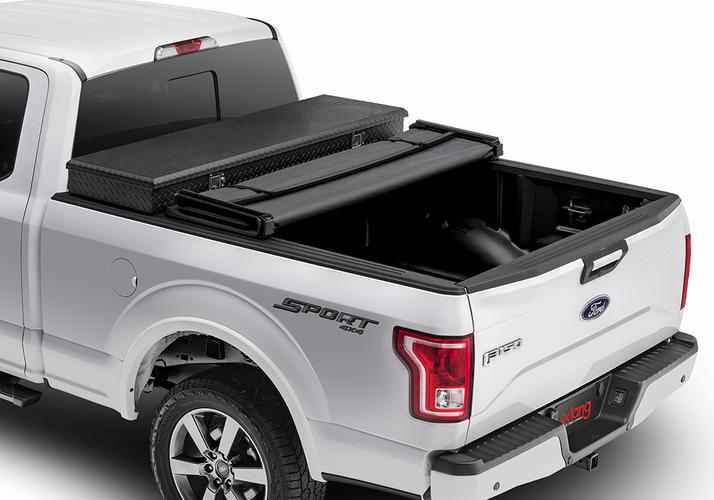 Trifecta 2.0 Toolbox Soft Folding Truck Bed Cover | Extang